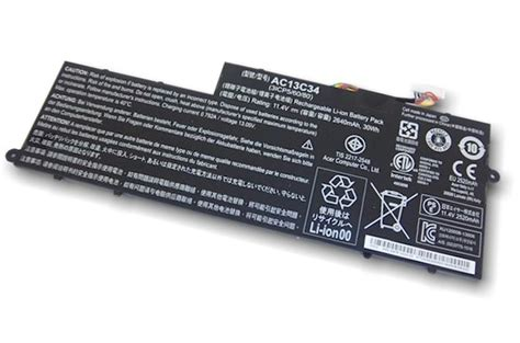 Acer Baterai Notebook V5 122p battery original acer aspire one v5 122 v5 132 ac13c34