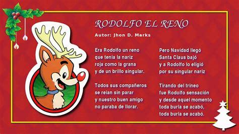 villancicos navide241os miss rosi 06 rodolfo el reno villancicos navide 241 os feliz navidad carols