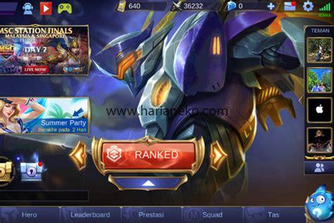 pangkat mobile legend jaringan harus stabil mobile legends