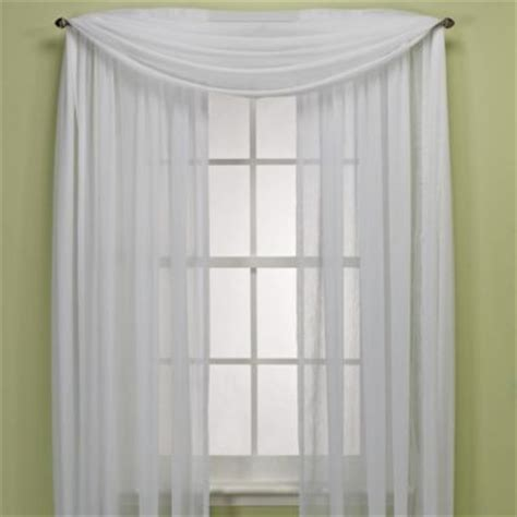 crushed voile sheer curtains crushed voile sheer rod pocket window curtain panel