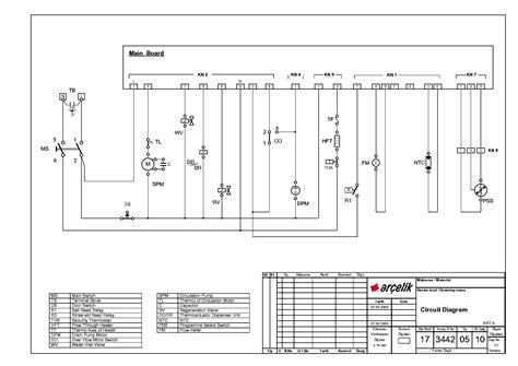 wiring diagram for washing machine motor wiring diagram