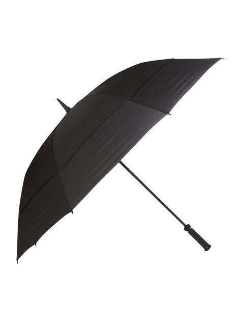 black umbrella fulton stormshield umbrella in black lyst