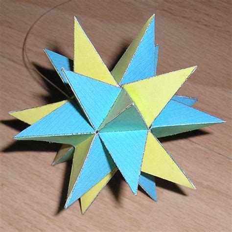 paper great stellated dodecahedron