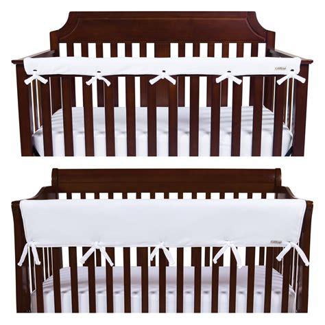 Narrow Crib by Trend Lab Fleece Cribwrap Rail Cover For