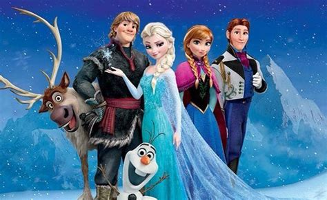 frozen cartoon film 2 8 best images about frozen characters together on