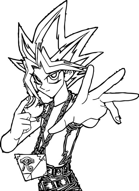 yu gi oh coloring pages yugioh challenge time coloring page wecoloringpage