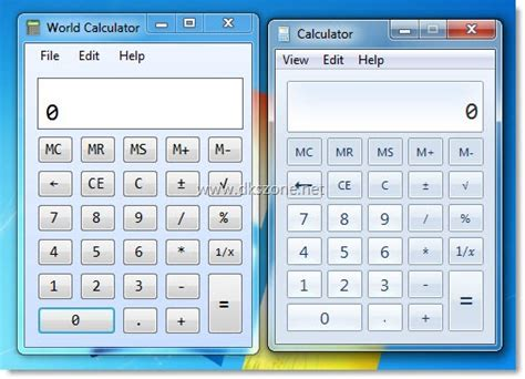 calculator windows 7 get windows 7 calculator in xp vista with world calculator