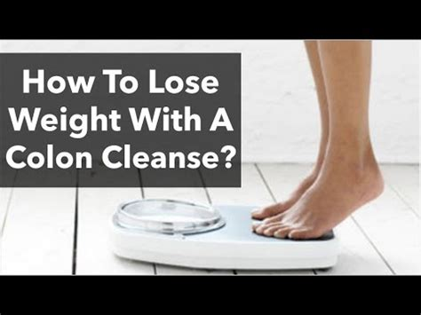 Does Colon Detox Help You Lose Weight by Colon Cleanse Weight Loss Does Colon Detox Really Help