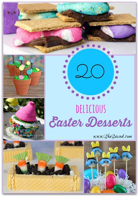 20 delicious easter desserts shesaved 174