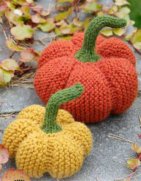 the knitting patch the patch pumpkin pattern knitting bee