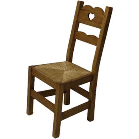 Chaises En Paille by Chaise Coeur Assise Paille