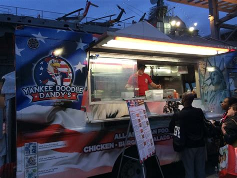 yankee doodle fast food another year of choice streets and crowds on the