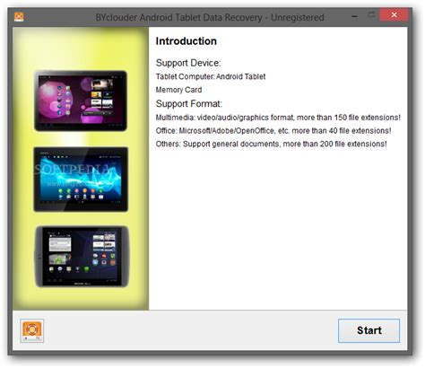 screenshot android tablet byclouder android tablet data recovery softpedia