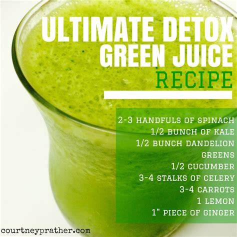 Daily Juice Detox by 72 Detox Drink Recipes Thee Mint