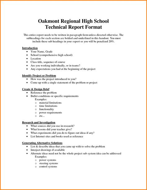 technical report cover page template technical report template bikeboulevardstucson