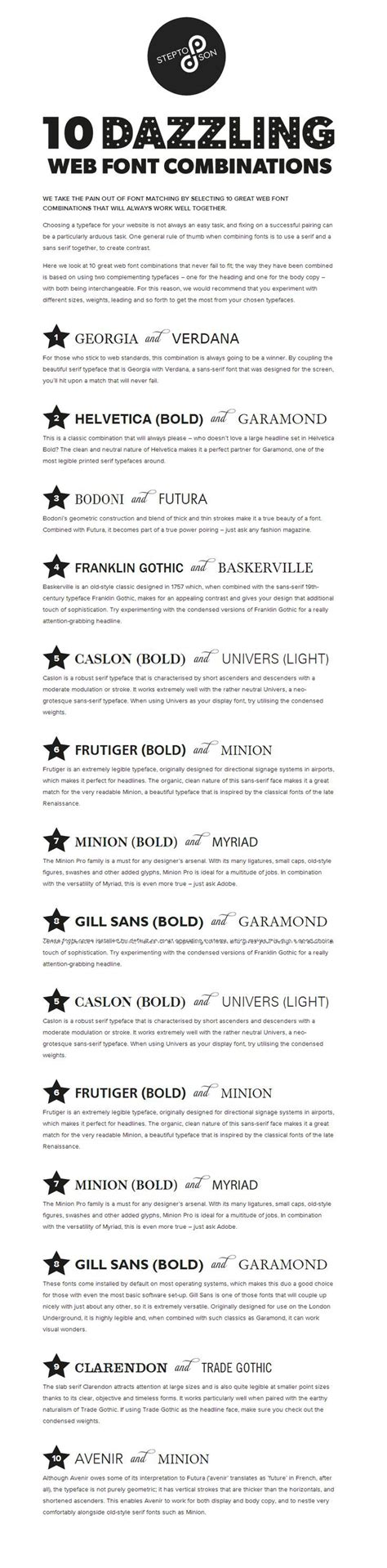 best 25 serif font list ideas on resume fonts