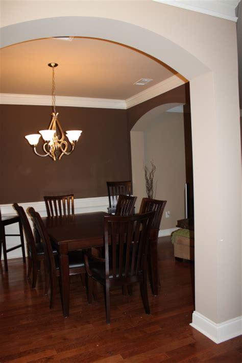 dark dining room too much brown furniture a national epidemic lorri