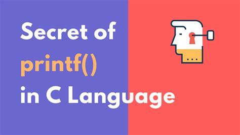 interesting usecase   printf function   language studytonight