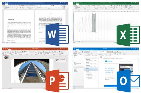 Word Suite Microsoft Office