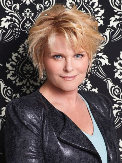 days of our lives adrienne hairdo actress judi evans talks going from days of our lives