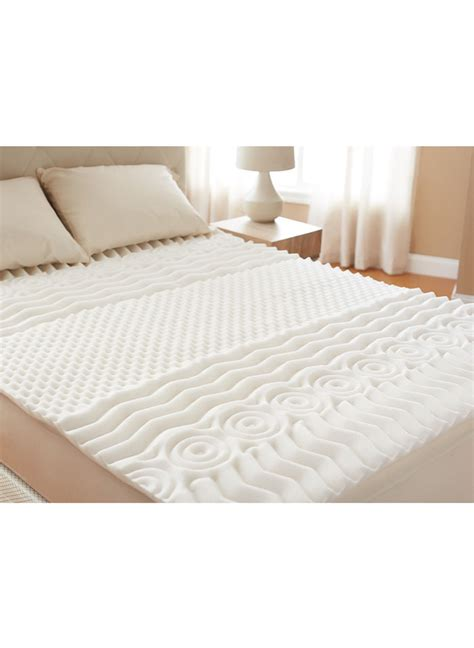 home comfort zones 7 zone mattress topper feel good store online catalog