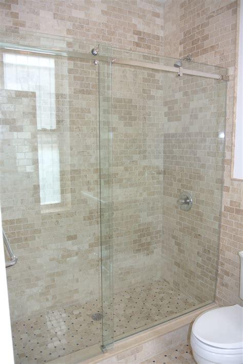 Shower Doors Sliding Shower Door Vs Hinged Shower Door