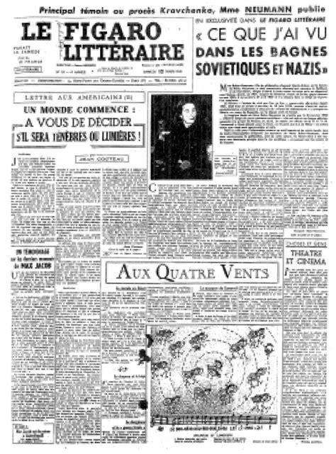 Le Figaro littéraire, de la revue politique et littéraire