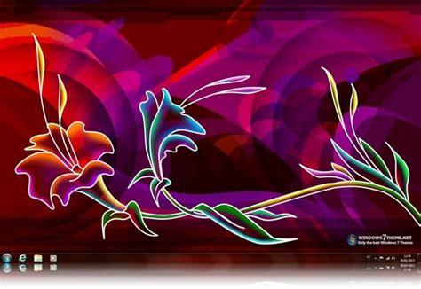 download theme windows 7 neon download neon art windows 7 theme baixar no clickgr 225 tis