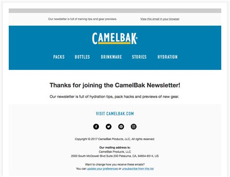 11 Welcome Email Template Exles That Grow Sales From Day 1 Welcome Email Template