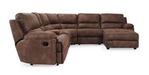 yellowstone sectional reclining rooms frontroom furnishings