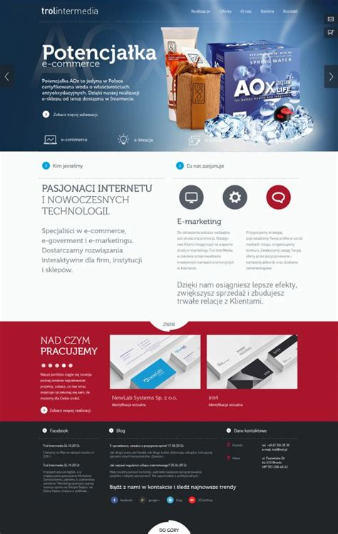 design web inspiration trol intermedia interactive agency and internet software