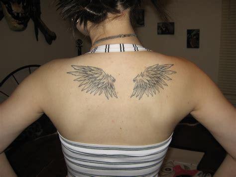 tattoo angel wings small small angel wing tattoo for girls busbones