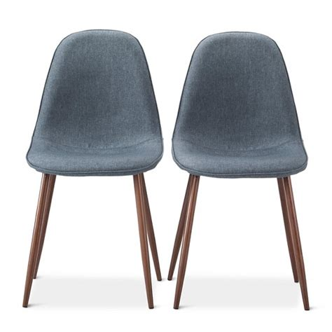Modern Furniture Dining Chairs Porter Mid Century Modern Dining Chairs Set Of 2 Target