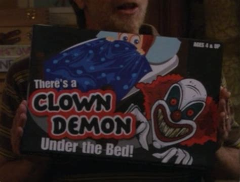 clown under bed there s a clown demon under the bed by aldrin games