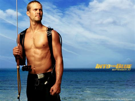 paul walker blue into the blue wallpaper www pixshark com images