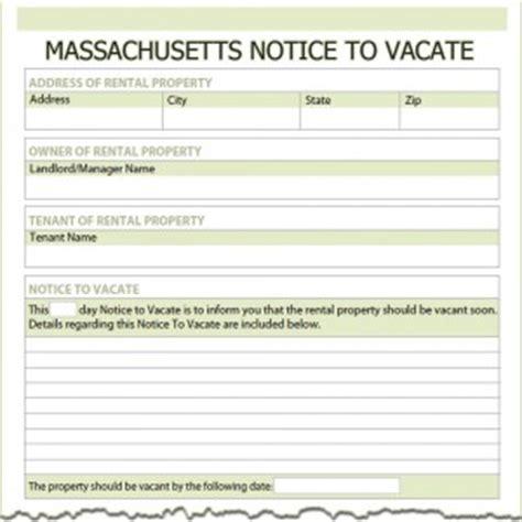 Eviction Tenant At Will Massachusetts Massachusetts