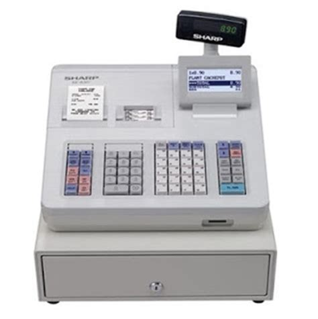 Mesin Kasir Dengan Barcode mesin kasir sharp xea 307 scanner barcode lebih mudah dan