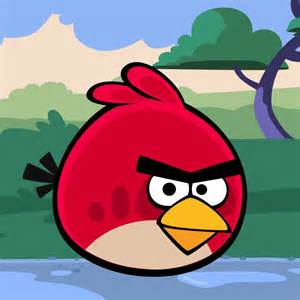 red angry bird angry birds picture