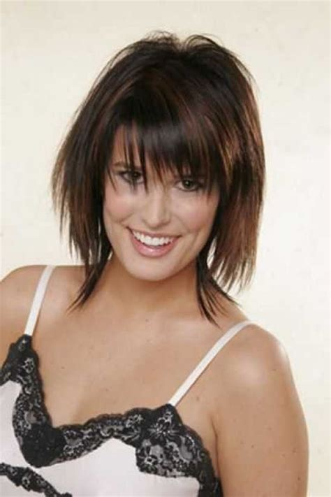 can you wear achopped bob hairstyle if you have afat saggy face 335 best images about medium hairstyles on pinterest