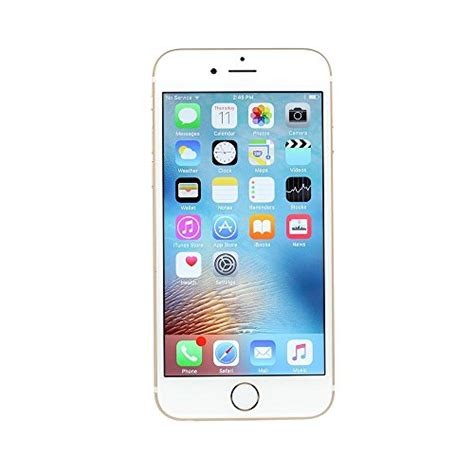 apple iphone 6s plus 16 gb at t locked gold certified refurbished