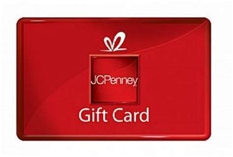 check balance on jcpenney gift card cash in your gift cards - Jc Penny Gift Card