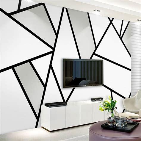 modern simple  stereo black  white geometry