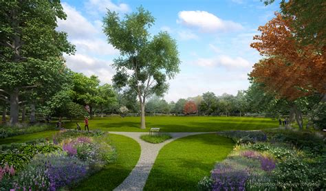 Landscape Design Rendering Photorealistic 3d Digital Landscape Rendering