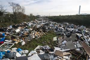 Essex Sofas Taxpayers Face Bill For Thurrock Rubbish Heap That