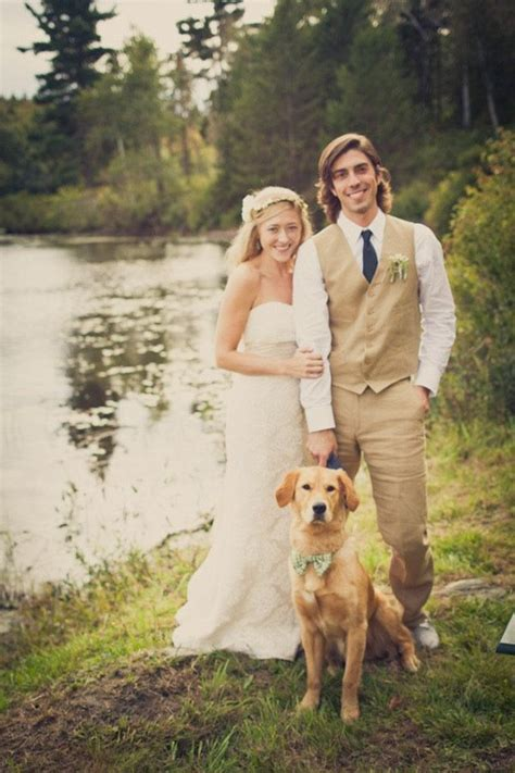 45 best Dogs in Weddings images on Pinterest   Dog ring