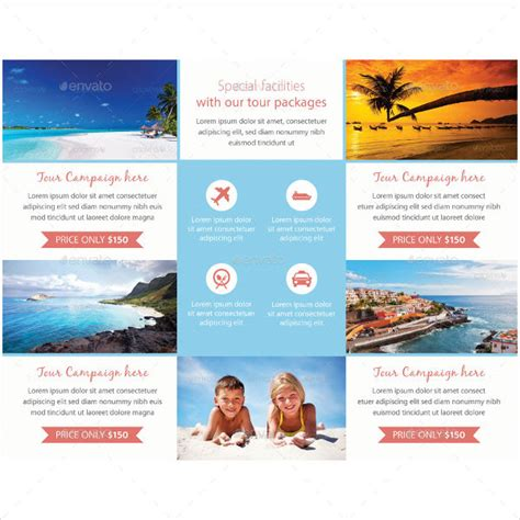 How To Make A Travel Brochure With Paper - 41 tri fold brochure templates free premium templates