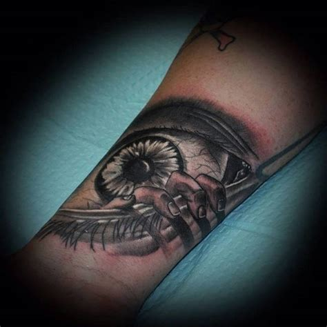 creepy tattoo 27 truly terrifying tattoos actually