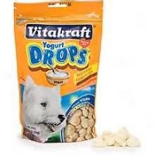 Vitakraft Snack Tasty Time vitakraft yogurt drops treats 8 8 oz 1 quot length