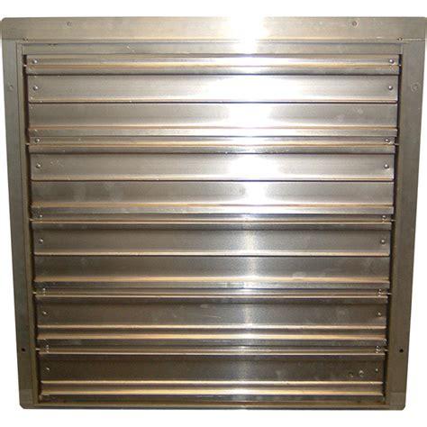 36 exhaust fan shutter tpi commercial exhaust fan shutters 36in model ces 36