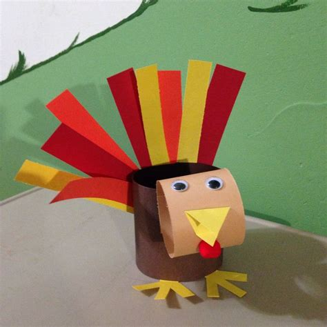 Construction Paper Turkey Craft - pin by kasey kaya on seasonal crafts for the class